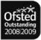 Ofsted outstanding 2008-2009 award logo