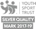 Youth Sport Trust silver quality mark award logo